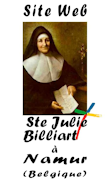 Site Web Ste Julie-Billard à Namur Belgique
